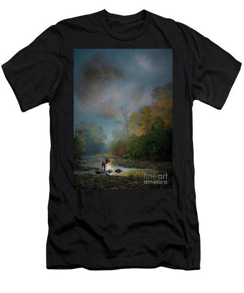 Woodland Elk Men's T-Shirt (Athletic Fit)