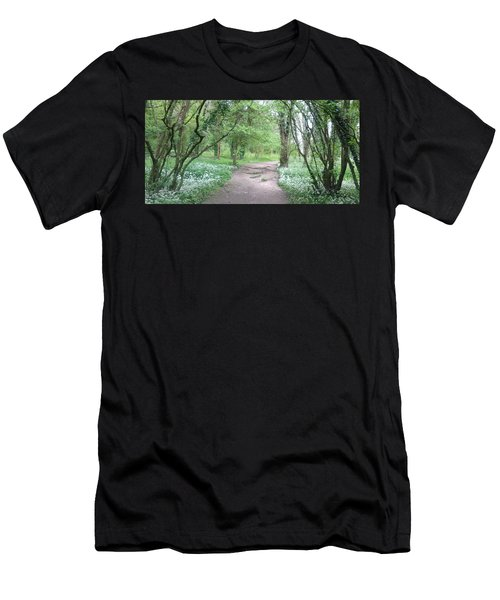 Woodland Path 1 Men's T-Shirt (Athletic Fit)