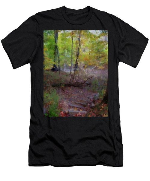 Woodland Steps Men's T-Shirt (Athletic Fit)