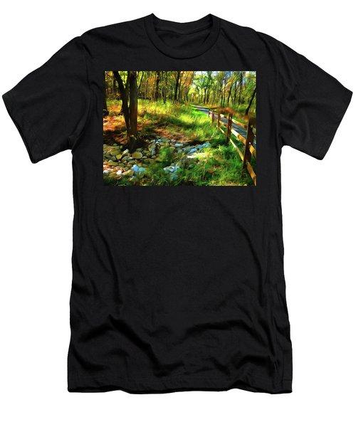Woodland Symphony Men's T-Shirt (Athletic Fit)