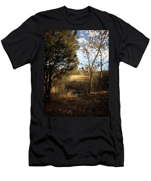 Woodland View  Men's T-Shirt (Athletic Fit)