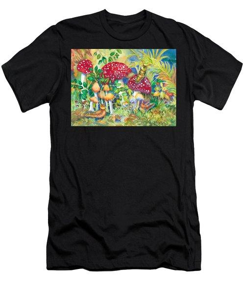 Woodland Visitors Men's T-Shirt (Athletic Fit)