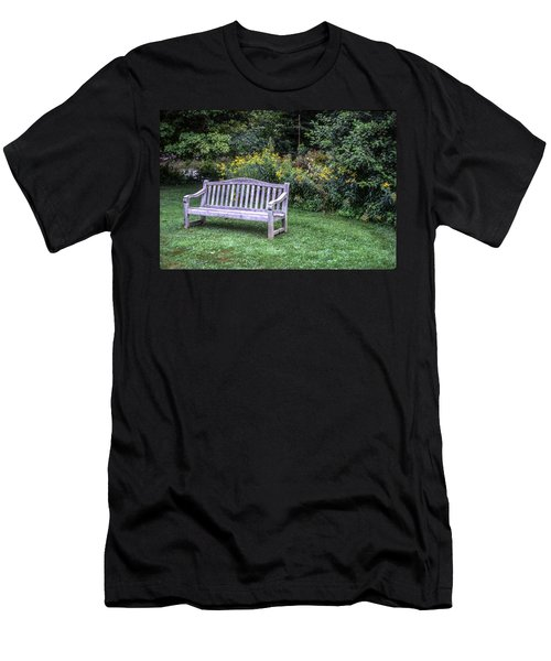 Woodstock Bench Men's T-Shirt (Athletic Fit)