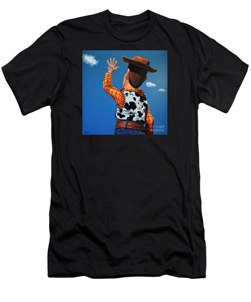 Woody Of Toy Story Men's T-Shirt (Athletic Fit)