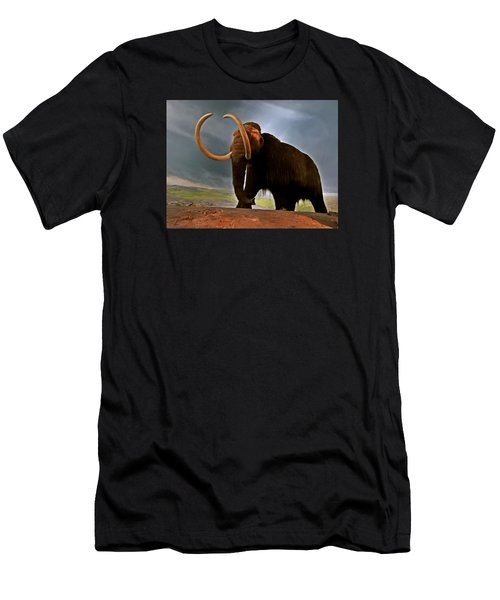 Woolly Mammoth Men's T-Shirt (Slim Fit) by Brian Chase