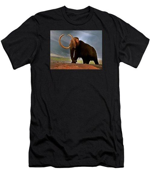 Woolly Mammoth Men's T-Shirt (Slim Fit)
