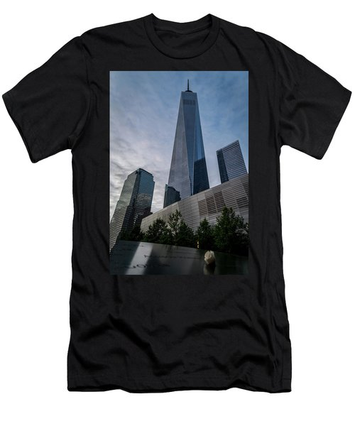 World Trade Center Remember Men's T-Shirt (Athletic Fit)