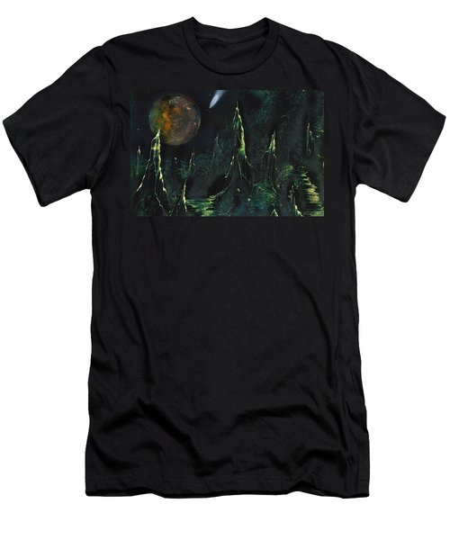Worlds Away Men's T-Shirt (Athletic Fit)