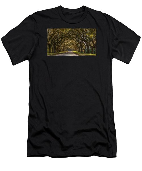 Wormsloe Historic Site Men's T-Shirt (Athletic Fit)