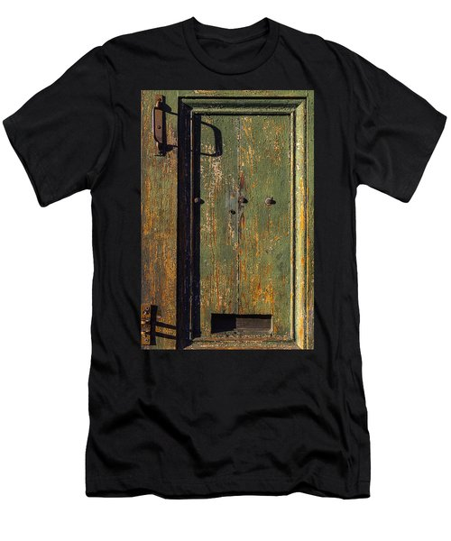 Worn Green Door Men's T-Shirt (Athletic Fit)