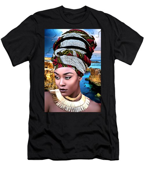 Worthy Is She Men's T-Shirt (Slim Fit)