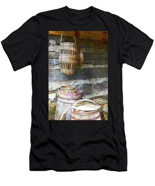 Woven Wood And Stone Men's T-Shirt (Athletic Fit)