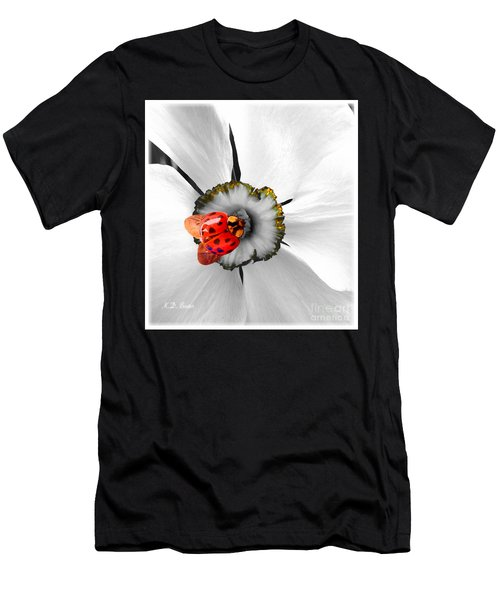 Wow Ladybug Is Hot Today Men's T-Shirt (Athletic Fit)