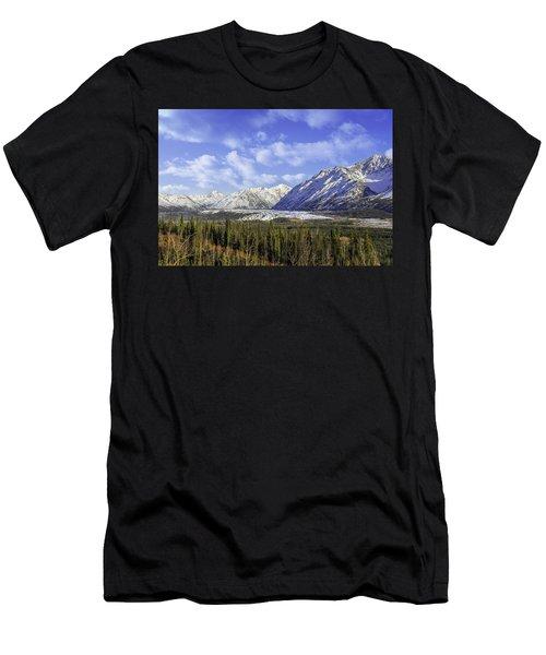 Wrangell Mountains Glacier Alaska Men's T-Shirt (Athletic Fit)