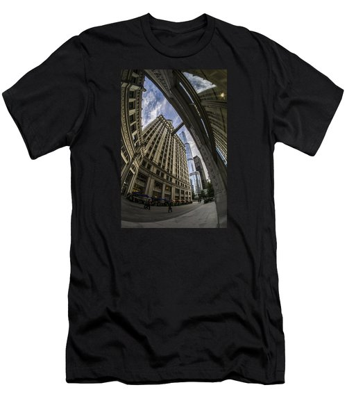 Wrigley And Trump A Fisheye View Men's T-Shirt (Athletic Fit)