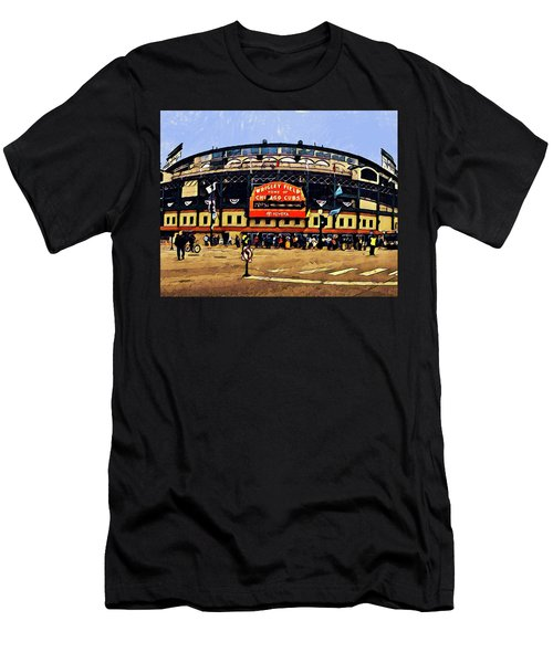 Wrigley Field Men's T-Shirt (Athletic Fit)