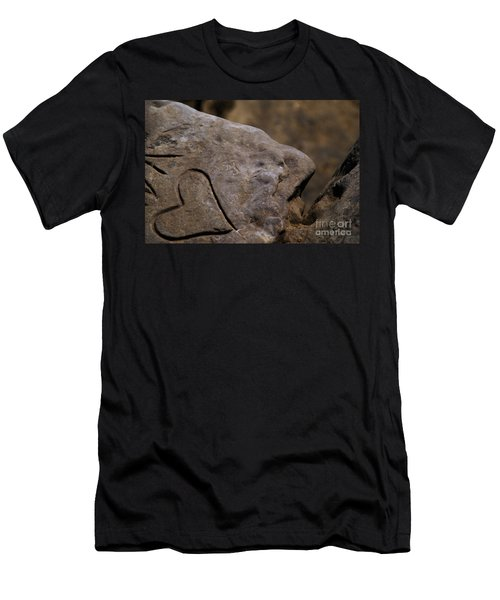 Written In Stone Men's T-Shirt (Athletic Fit)