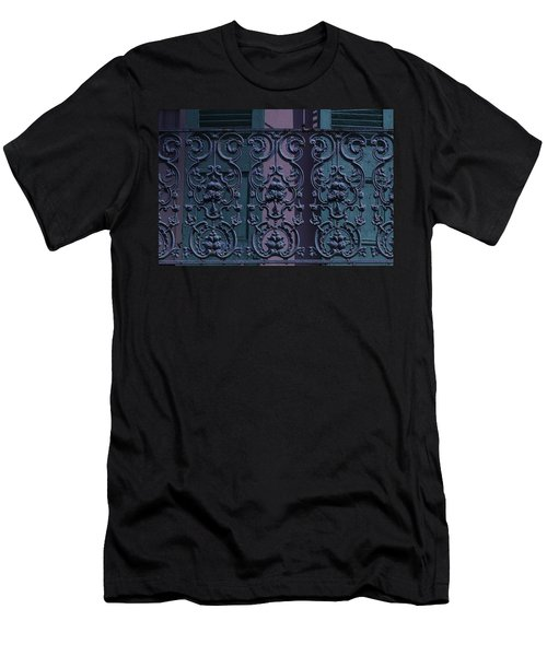 Wrought Iron Railings Men's T-Shirt (Athletic Fit)