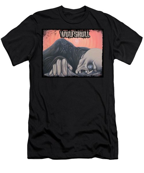 Wulfskull#4 Men's T-Shirt (Athletic Fit)