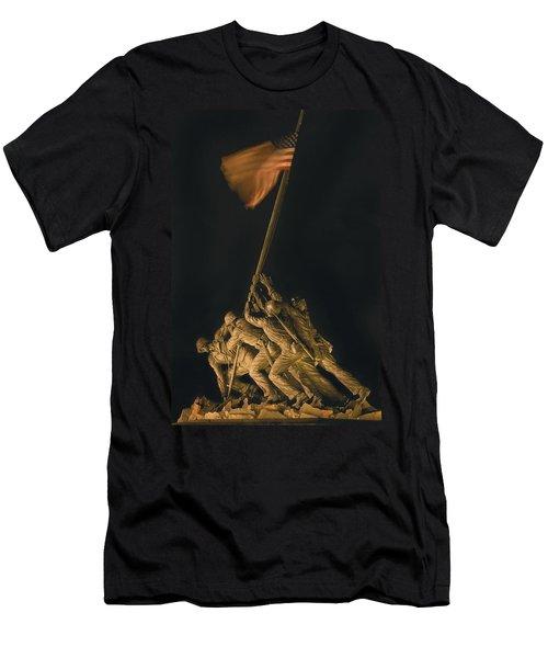 Iwo Jima Remembrance Men's T-Shirt (Athletic Fit)
