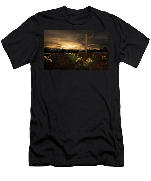 Wye Mountain Sunset Men's T-Shirt (Athletic Fit)