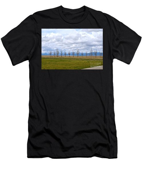 Wyoming-dwyer Junction Men's T-Shirt (Athletic Fit)