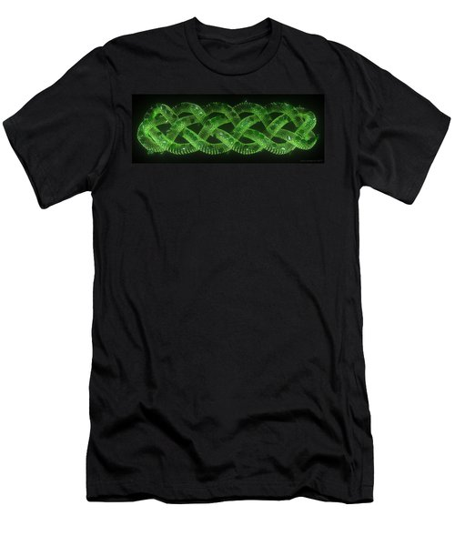 Wyrm - The Celtic Serpent Men's T-Shirt (Athletic Fit)