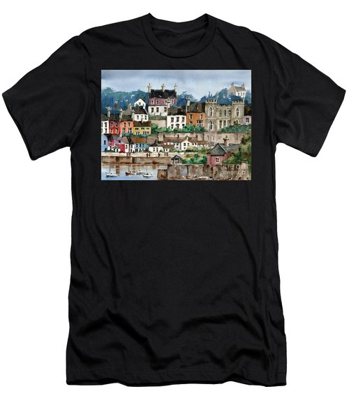 F 762   Kinsale Harbour, Cork Men's T-Shirt (Athletic Fit)