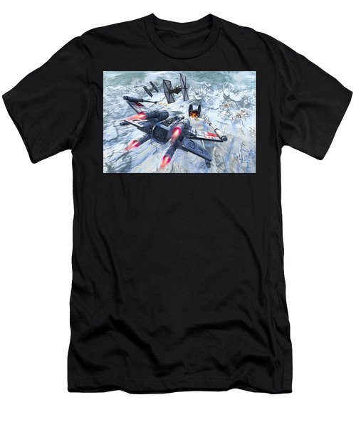 X-wing Glacier Men's T-Shirt (Athletic Fit)