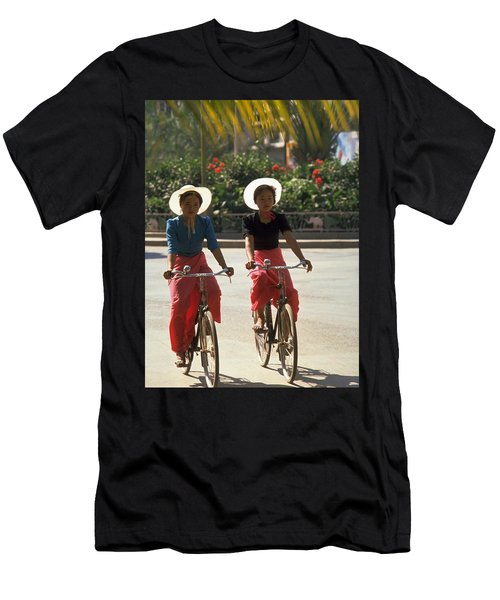 Xishuangbanna Cyclists Men's T-Shirt (Athletic Fit)
