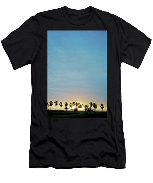 Men's T-Shirt (Athletic Fit) featuring the photograph Xtapa Sunset by Frank DiMarco