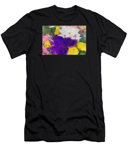 Xtreme Floral Eleven Purple And White Men's T-Shirt (Athletic Fit)