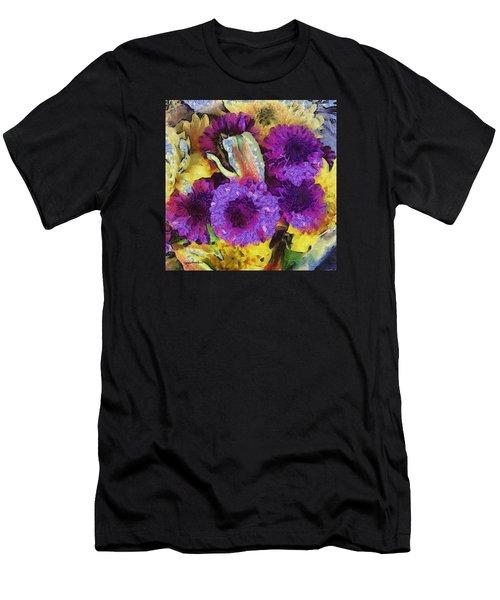 Xtreme Floral Twelve Cozy And Snug Men's T-Shirt (Athletic Fit)