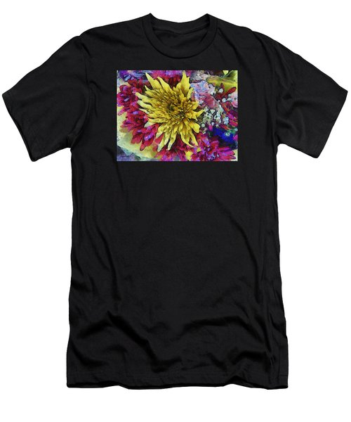 Xtreme Floral Thirteen Reaching Out Men's T-Shirt (Athletic Fit)