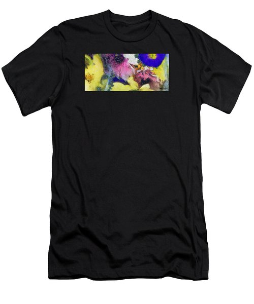 Xtreme Floral Sixteen Pink Power Men's T-Shirt (Athletic Fit)