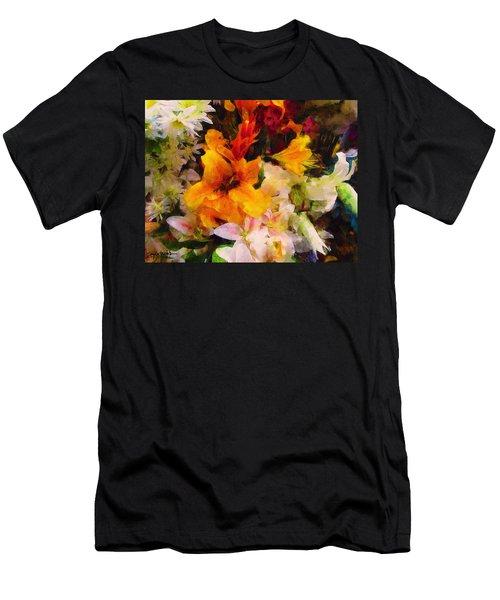 Say Ahhhh Xtreme Floral Twenty Men's T-Shirt (Athletic Fit)