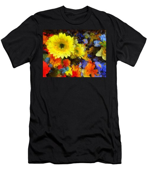 Xtreme Floral Seventeen Into The Depths Men's T-Shirt (Slim Fit) by Spyder Webb