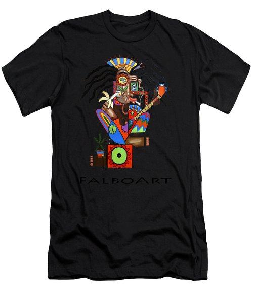 Ya Man 2 No Steel Drums Men's T-Shirt (Athletic Fit)