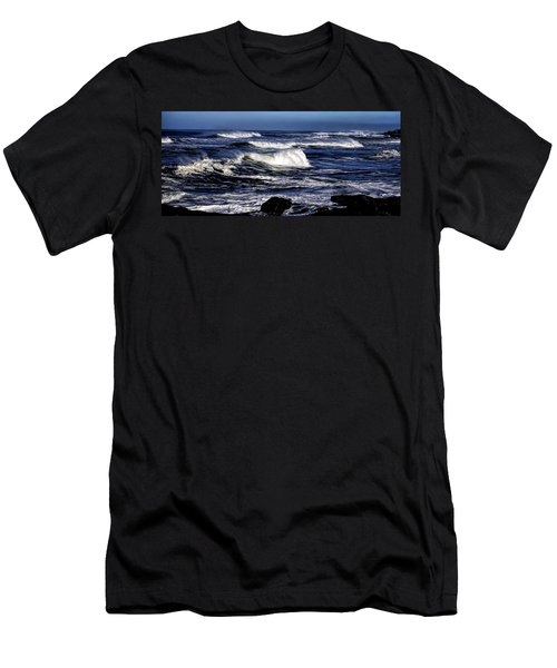 Yachats Bay Men's T-Shirt (Athletic Fit)