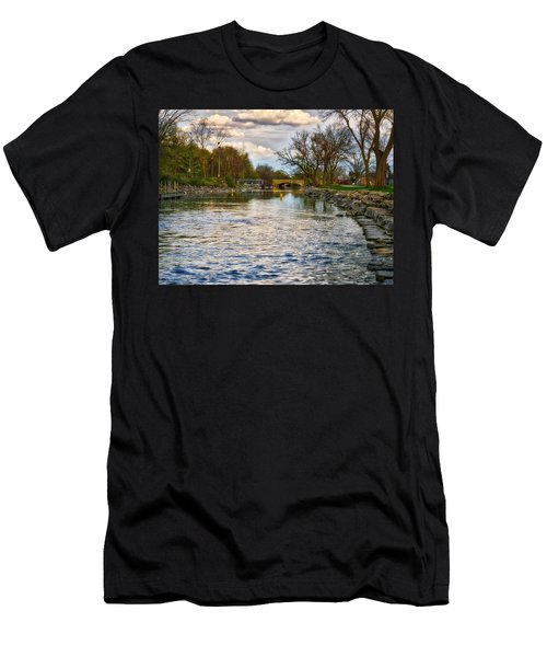 Yahara River, Madison, Wi Men's T-Shirt (Athletic Fit)