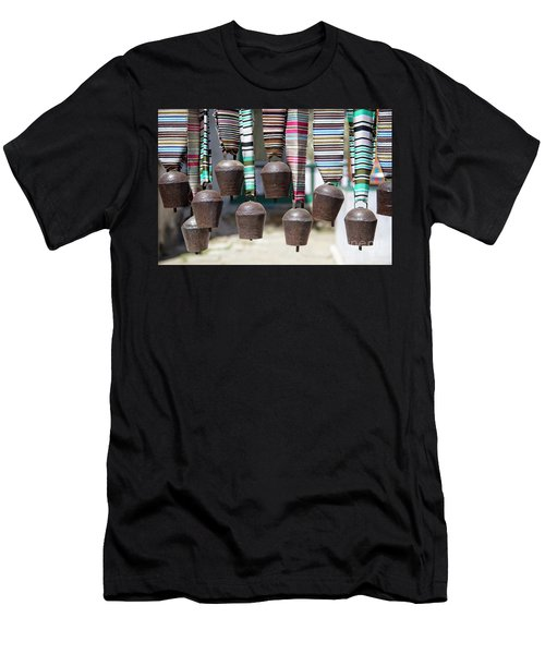 Men's T-Shirt (Athletic Fit) featuring the photograph Yak Bells by Scott Kemper