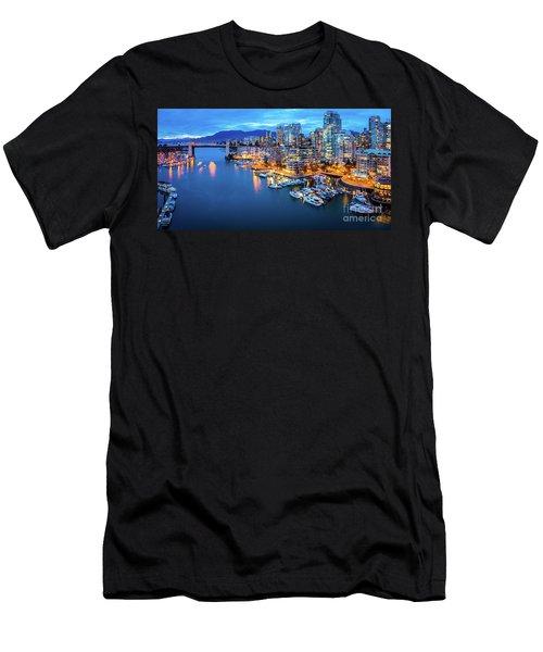Yaletown Panorama Men's T-Shirt (Athletic Fit)