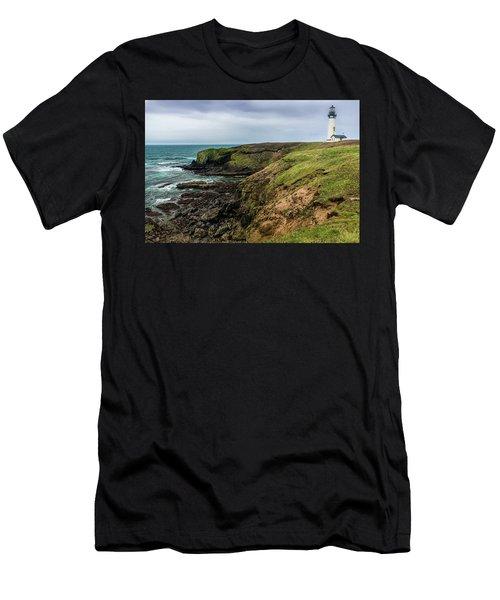 Yaquina Head Light Men's T-Shirt (Athletic Fit)