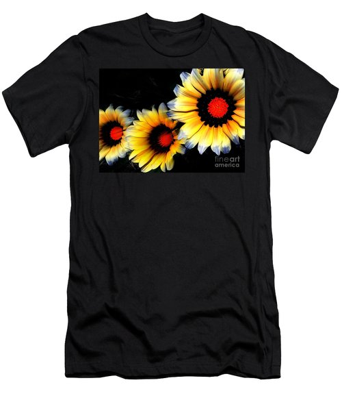 Yard Flowers Men's T-Shirt (Athletic Fit)