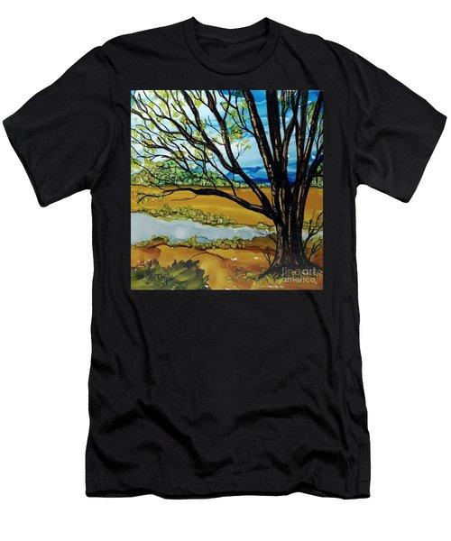 Ye Olde Oak Men's T-Shirt (Athletic Fit)