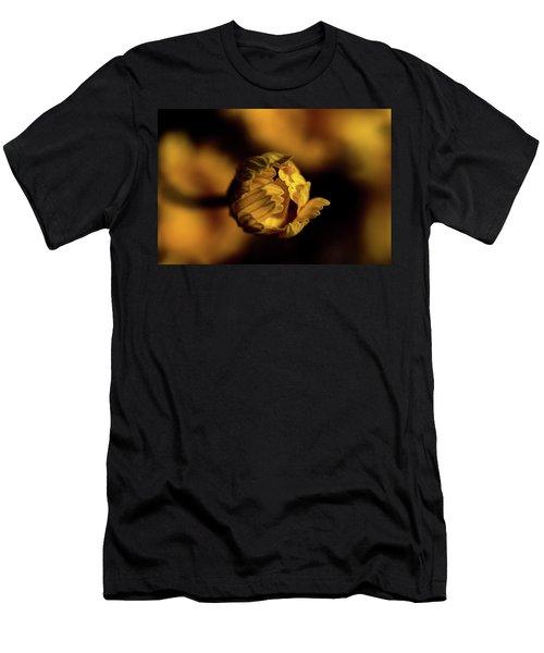 Yelllow Men's T-Shirt (Slim Fit) by Jay Stockhaus