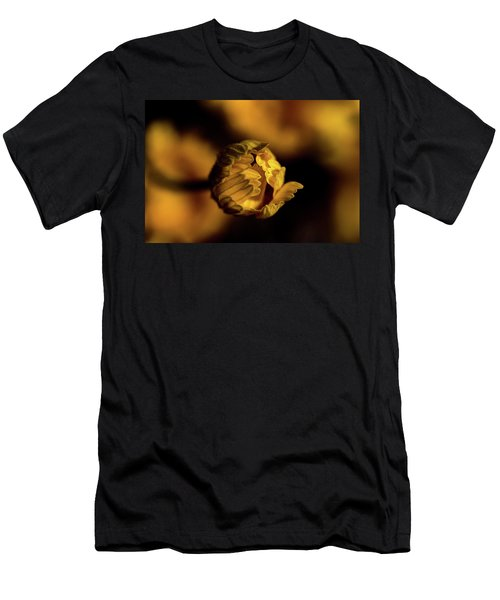 Yelllow Men's T-Shirt (Athletic Fit)