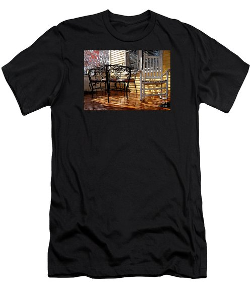 Men's T-Shirt (Slim Fit) featuring the photograph Yellow Ambiance by Betsy Zimmerli