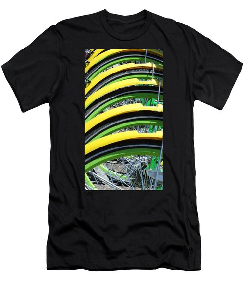 Yellow Bike Fenders Men's T-Shirt (Athletic Fit)