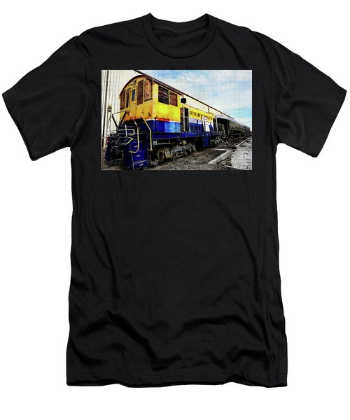 Yellow/blue Birmingham Men's T-Shirt (Athletic Fit)